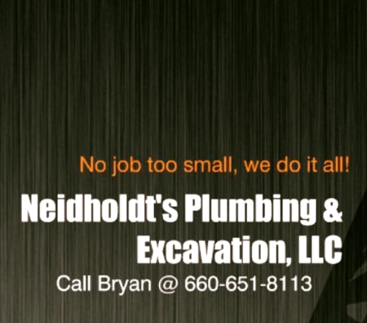 Neidholdt's Plumbing and Excavation, LLC